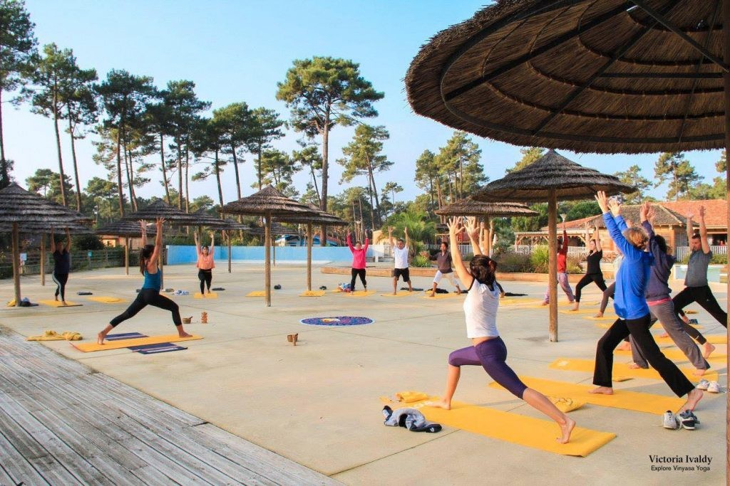explore vinyasa yoga seignosse
